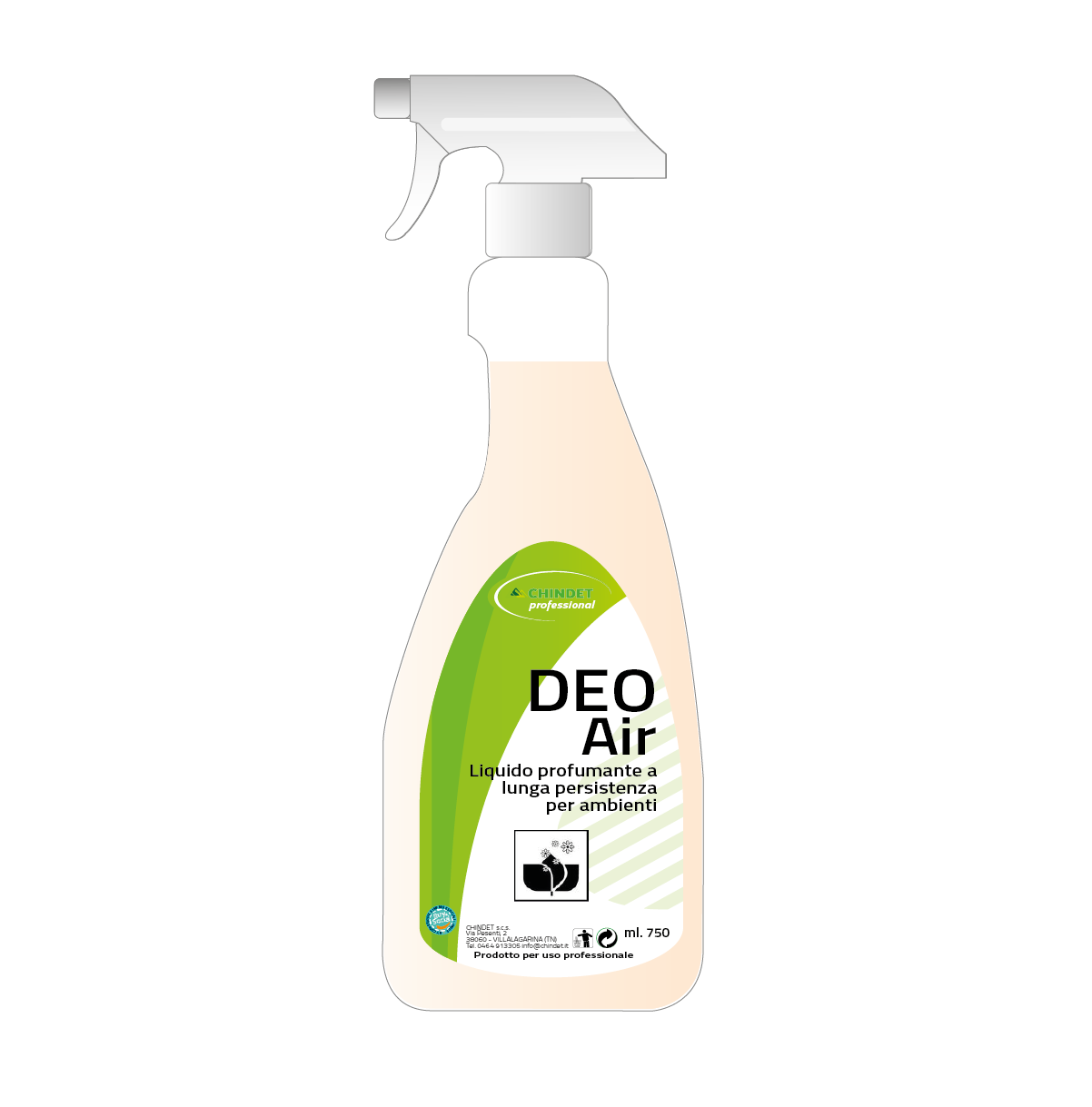 Deo Air 750 ml 1200
